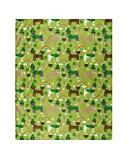 """Pitbull Irish St Patrick Day Quilts and Blankets Quilt 40""""x50"""" - Baby front"""