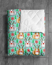 "Guinea Pig 24 Quilts and Blankets Quilt 40""x50"" - Baby aos-quilt-40x50-lifestyle-closeup-front-04"