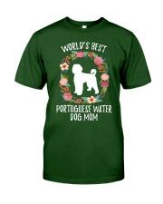 WORLD'S BEST PORTUGUESE WATER DOG MOM TSHIRT Classic T-Shirt thumbnail