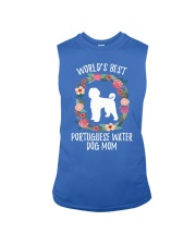 WORLD'S BEST PORTUGUESE WATER DOG MOM TSHIRT Sleeveless Tee thumbnail