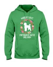 WORLD'S BEST PORTUGUESE WATER DOG MOM TSHIRT Hooded Sweatshirt thumbnail