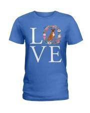 LOVE BOXER Ladies T-Shirt thumbnail