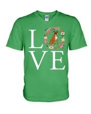 LOVE BOXER V-Neck T-Shirt thumbnail