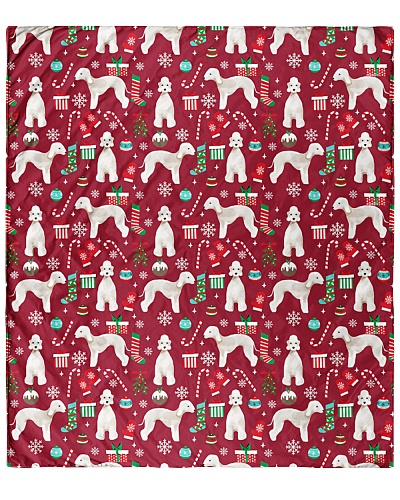 Bedlington Terrier 3 Quilts and Blankets