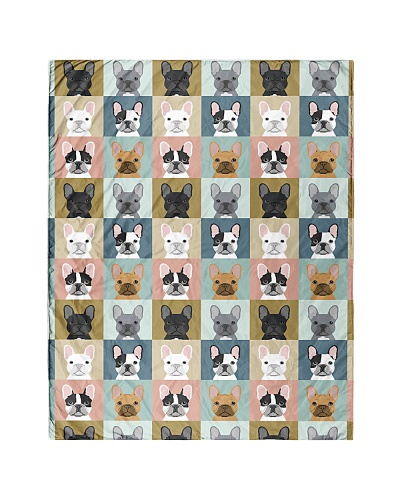 Frenchie French Bulldog 1 Quilts and Blankets