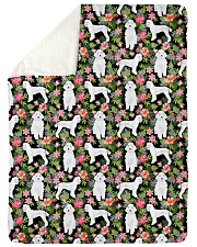 Poodle 4 Quilts and Blankets Sherpa Fleece Blanket tile