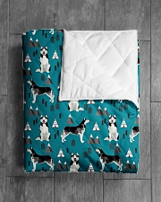 "Husky 1 Quilts and Blankets Quilt 40""x50"" - Baby aos-quilt-40x50-lifestyle-closeup-front-04"