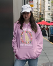 GOLDEN RETRIEVER MOM Hooded Sweatshirt lifestyle-unisex-hoodie-front-5
