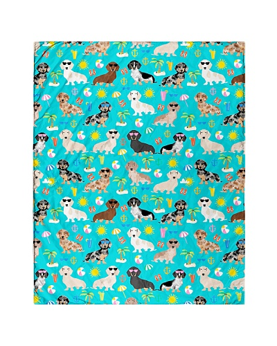 Dachshund 6 Quilts and Blankets