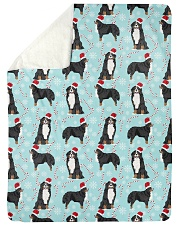 """Bernese Mountain Dog 6 Quilts and Blankets Large Sherpa Fleece Blanket - 60"""" x 80"""" thumbnail"""