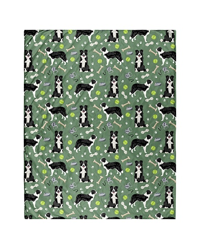 Border Collie 3 Quilts and Blankets