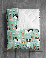 "Papillon Dog 1 Quilts and Blankets Quilt 40""x50"" - Baby aos-quilt-40x50-lifestyle-closeup-front-04"