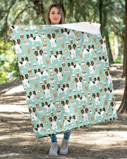 "Papillon Dog 1 Quilts and Blankets Quilt 40""x50"" - Baby aos-quilt-40x50-lifestyle-front-04"