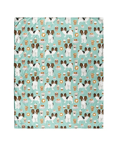 Papillon Dog 1 Quilts and Blankets