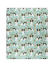 "Papillon Dog 1 Quilts and Blankets Quilt 40""x50"" - Baby front"