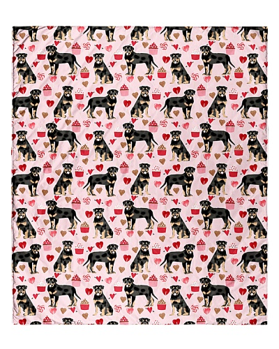 Rottweiler 5 Quilts and Blankets