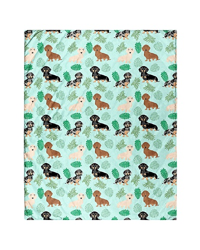 Dachshund 4 Quilts and Blankets