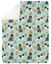 """Newfoundland Dog 6 Quilts and Blankets Large Sherpa Fleece Blanket - 60"""" x 80"""" thumbnail"""