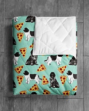 """Newfoundland Dog 6 Quilts and Blankets Quilt 40""""x50"""" - Baby aos-quilt-40x50-lifestyle-closeup-front-04"""