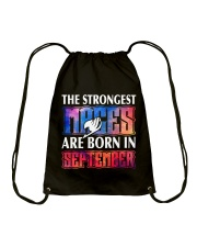 THE STRONGEST MAGES ARE BORN IN SEPTEMBER Drawstring Bag thumbnail
