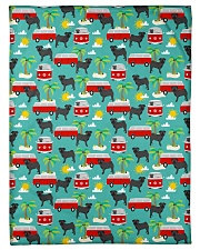 """Pug 53 Quilts and Blankets Small Fleece Blanket - 30"""" x 40"""" thumbnail"""