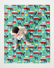 """Pug 53 Quilts and Blankets Quilt 40""""x50"""" - Baby aos-quilt-40x50-lifestyle-front-06"""