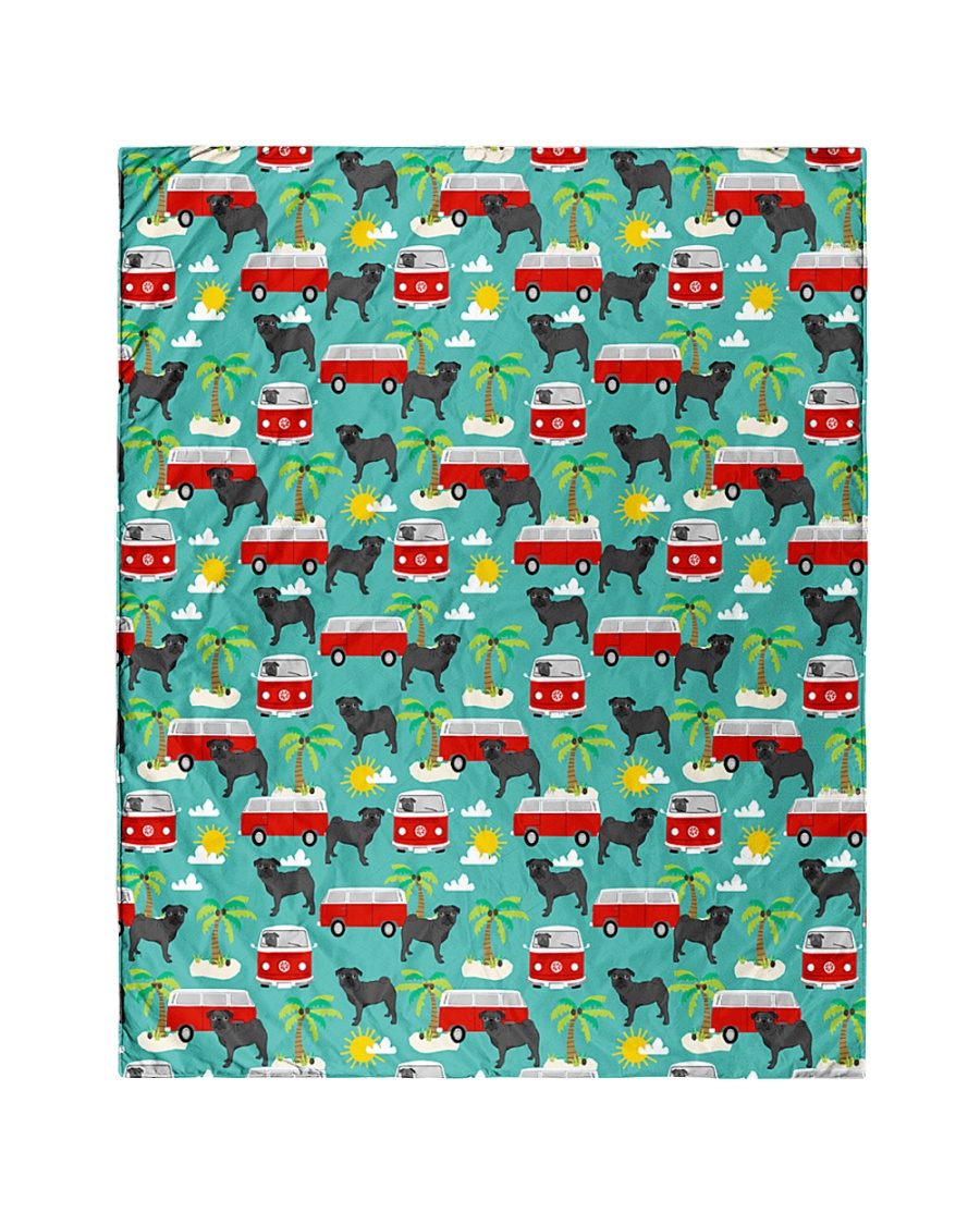 """Pug 53 Quilts and Blankets Quilt 40""""x50"""" - Baby"""