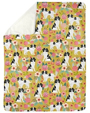 """Japanese Chin 4 Quilts and Blankets Large Sherpa Fleece Blanket - 60"""" x 80"""" thumbnail"""