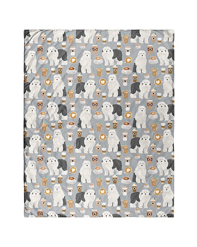 Old English Sheepdog 4 Quilts and Blankets