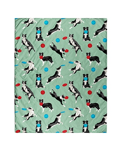Border Collie 18 Quilts and Blankets