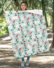 """Westie West Highland White Terrier 2 Quilts Quilt 40""""x50"""" - Baby aos-quilt-40x50-lifestyle-front-04"""
