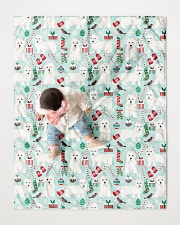 """Westie West Highland White Terrier 2 Quilts Quilt 40""""x50"""" - Baby aos-quilt-40x50-lifestyle-front-06"""