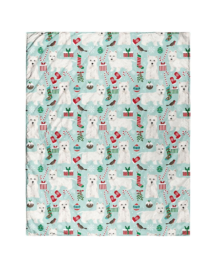 "Westie West Highland White Terrier 2 Quilts Quilt 40""x50"" - Baby"