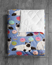 """Birman Cat 3 Quilts and Blankets Quilt 40""""x50"""" - Baby aos-quilt-40x50-lifestyle-closeup-front-04"""