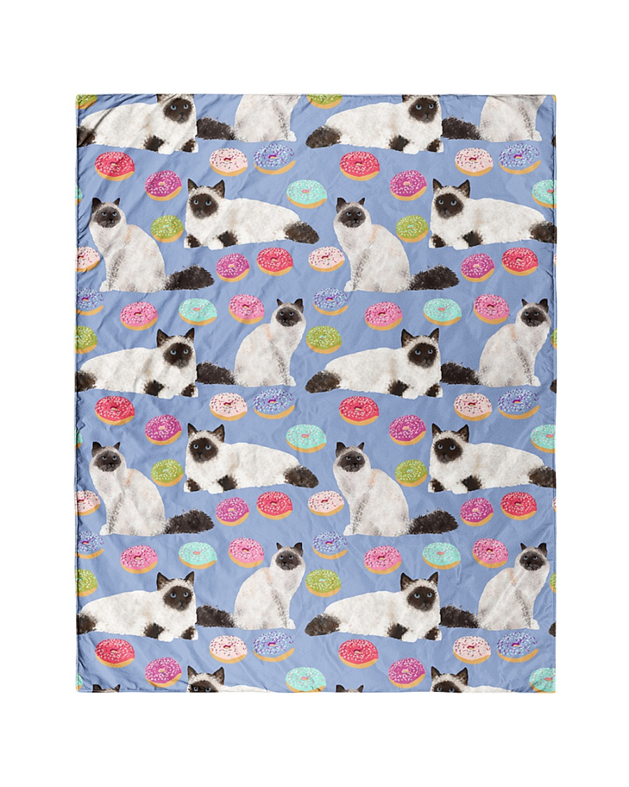 """Birman Cat 3 Quilts and Blankets Quilt 40""""x50"""" - Baby"""