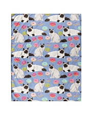 """Birman Cat 3 Quilts and Blankets Quilt 40""""x50"""" - Baby front"""