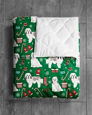 """Havanese 5 Quilts and Blankets Quilt 40""""x50"""" - Baby aos-quilt-40x50-lifestyle-closeup-front-04"""