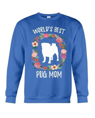 WORLD'S BEST PUG MOM
