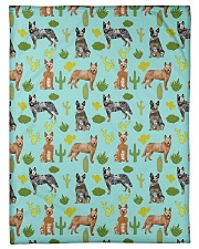"""Australian Cattle Dog 5 Quilts and Blankets Small Fleece Blanket - 30"""" x 40"""" thumbnail"""
