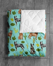 """Australian Cattle Dog 5 Quilts and Blankets Quilt 40""""x50"""" - Baby aos-quilt-40x50-lifestyle-closeup-front-04"""