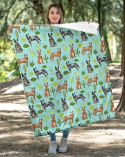 """Australian Cattle Dog 5 Quilts and Blankets Quilt 40""""x50"""" - Baby aos-quilt-40x50-lifestyle-front-04"""