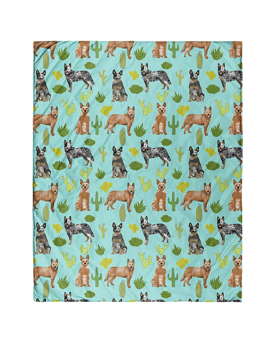 """Australian Cattle Dog 5 Quilts and Blankets Quilt 40""""x50"""" - Baby"""