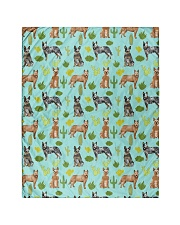 """Australian Cattle Dog 5 Quilts and Blankets Quilt 40""""x50"""" - Baby front"""