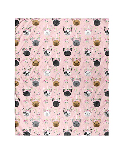Frenchie French Bulldog 14 Quilts and Blankets