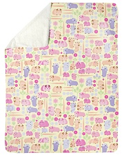 "Guinea Pig 5 Quilts and Blankets Large Sherpa Fleece Blanket - 60"" x 80"" thumbnail"