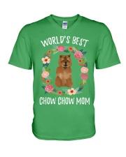 CHOW CHOW MOM V-Neck T-Shirt thumbnail