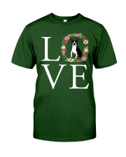 LOVE BOSTON TERRIER Classic T-Shirt thumbnail