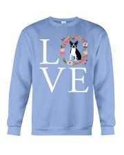 LOVE BOSTON TERRIER Crewneck Sweatshirt thumbnail