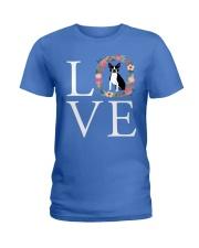 LOVE BOSTON TERRIER Ladies T-Shirt thumbnail