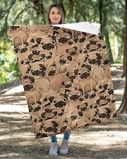 """Pug 21 Quilts and Blankets Quilt 40""""x50"""" - Baby aos-quilt-40x50-lifestyle-front-04"""